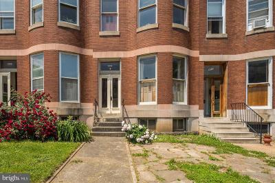 Baltimore Multi Family Home For Sale: 3008 Saint Paul Street
