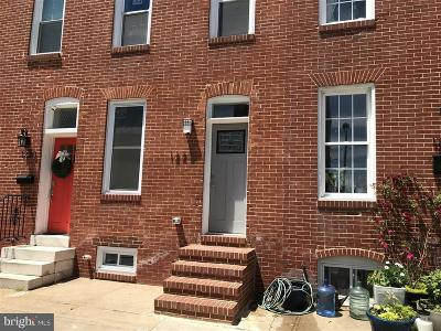 Baltimore Townhouse For Sale: 1228 Hull Street