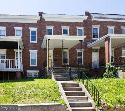 Baltimore MD Townhouse For Sale: $104,900