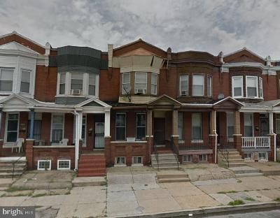 Baltimore MD Townhouse For Auction: $5,000