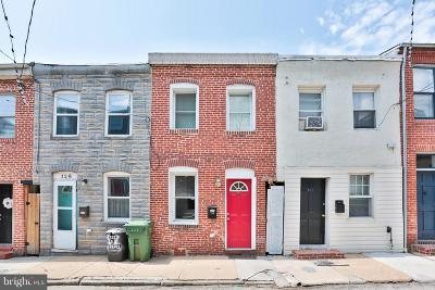 Baltimore MD Townhouse For Sale: $199,900
