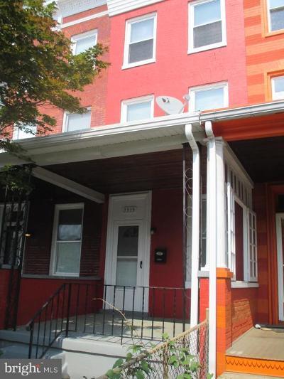 Hampden, Hampden Hon!! Townhouse For Sale: 3315 Chestnut Avenue