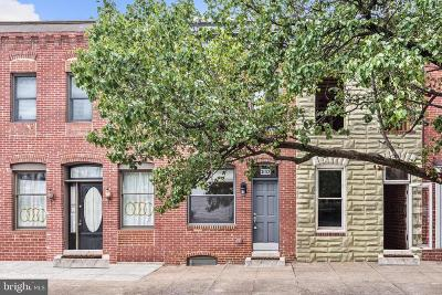 Baltimore City Townhouse For Sale: 3102 Foster Avenue