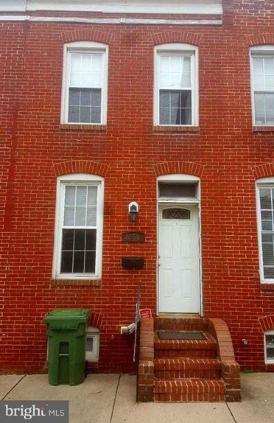 Pigtown Townhouse For Sale: 1156 Scott Street