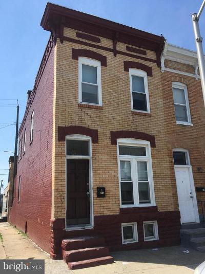 Baltimore Townhouse For Sale: 12 N Clinton Street N