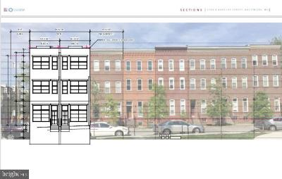 Baltimore Townhouse For Sale: 1704 Barclay Street