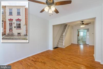 Fells Point Townhouse For Sale: 421 S Madeira Street