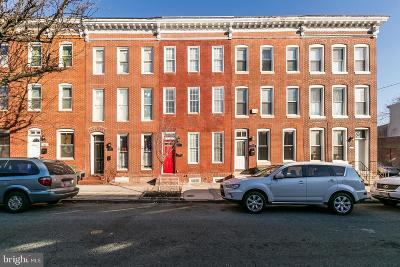 Baltimore City Townhouse For Sale: 713 Scott Street