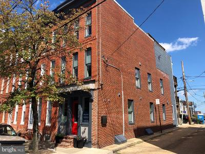 Baltimore City Townhouse For Sale: 1233 Riverside Avenue