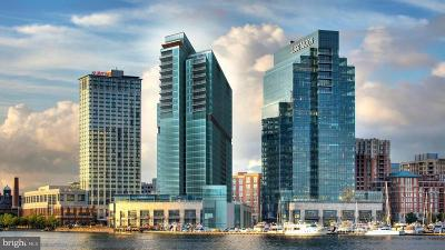 Baltimore City Condo For Sale: 300 International Drive #2403