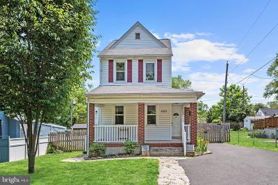 Hamden, Hamilton, Hamilton Area, Hamilton-Lauraville, Hamilton/Parkville, Hamilton/Rosemont East, Hamiltowne Single Family Home For Sale: 6301 Eunice Avenue
