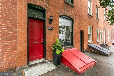 Fells Point Townhouse For Sale: 804 S Bond Street