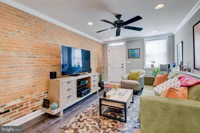 Baltimore City Townhouse For Sale: 1726 Light Street