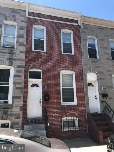 Patterson Park Townhouse For Sale: 218 N Glover Street