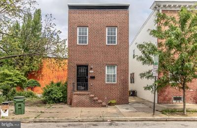 Butchers Hill Single Family Home For Sale: 233 N Chester Street
