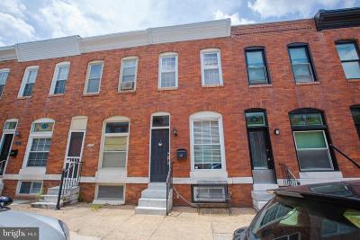 Canton, Federal Hill, Federal Hill Area, Federal Hill;, Federall Hill, Fell Point, Fells Point, Fells Point Upper, Inner Harbor Single Family Home For Sale: 632 S Belnord Avenue