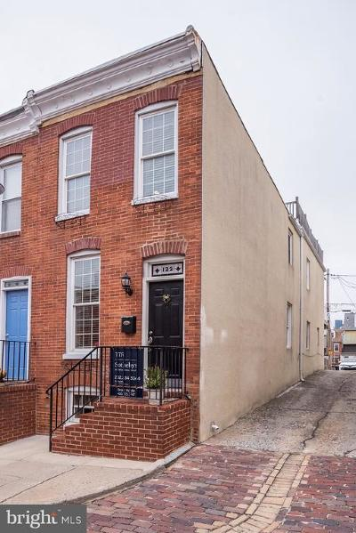 Federal Hill Townhouse For Sale: 122 E Clement Street