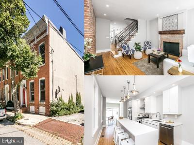 Baltimore City Townhouse For Sale: 403 E Hamburg Street