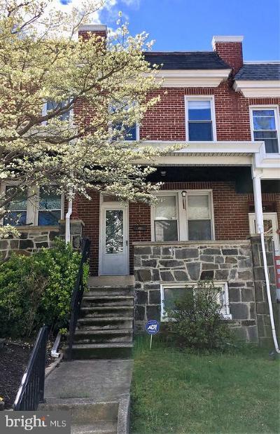 Hampden Townhouse For Sale: 1405 Union Avenue