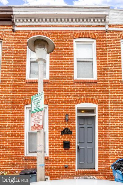 South Baltimore Townhouse For Sale: 1616 Clarkson Street