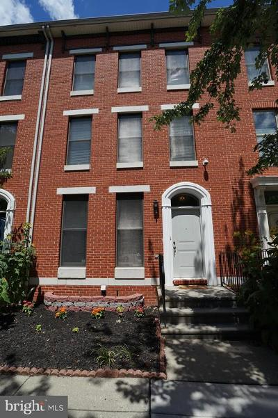 Baltimore City Townhouse For Sale: 1907 Eutaw Place