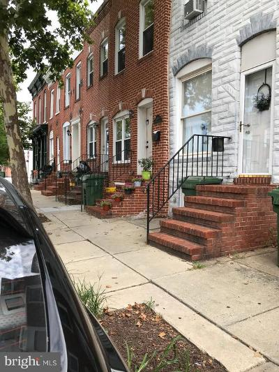 Baltimore Rental For Rent: 1607 S Hanover Street