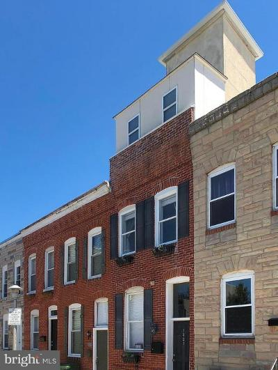 Baltimore MD Townhouse For Sale: $339,000