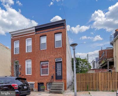 Federal Hill Townhouse For Sale: 1523 Clarkson Street