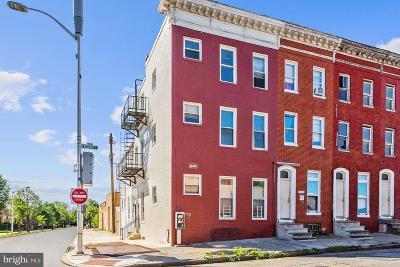 Baltimore Multi Family Home For Sale: 1601 Retreat Street