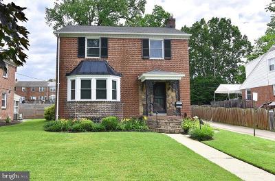 Baltimore Single Family Home For Sale: 912 E Belvedere Avenue
