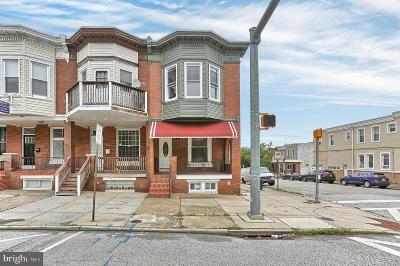 Baltimore City Townhouse For Sale: 639 S Conkling Street