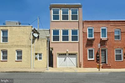 Baltimore City Townhouse For Sale: 701 S Rose Street