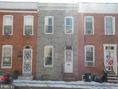 Baltimore City Townhouse Under Contract: 11 E Barney Street