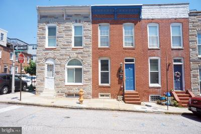 Federal Hill Townhouse For Sale: 420 E Clement Street