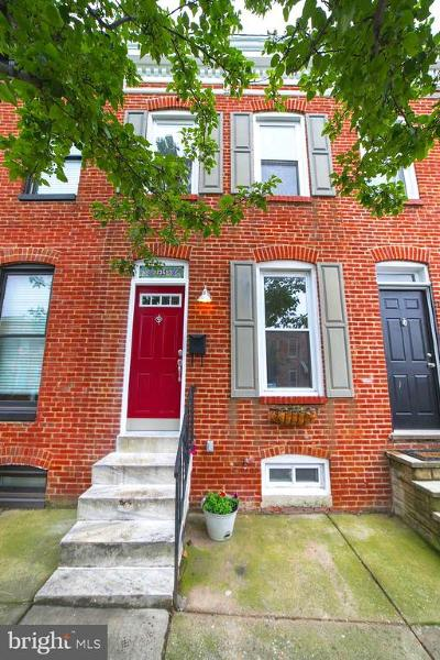 Baltimore City Townhouse For Sale: 135 W Randall Street