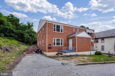 Baltimore Single Family Home For Sale: 4108 Lasalle Avenue