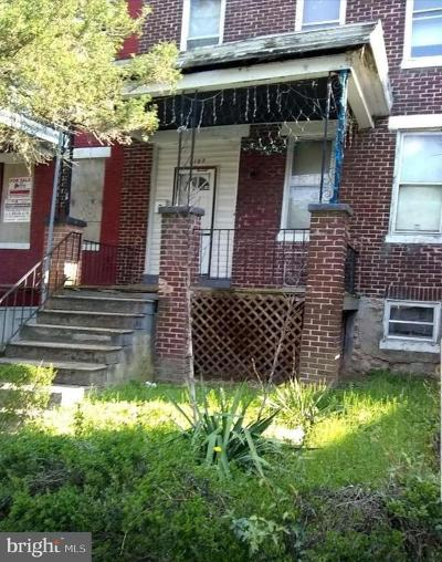 Baltimore Townhouse For Sale: 2107 Rupp Street