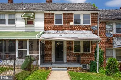 Baltimore City Townhouse For Sale: 922 E 41st Street