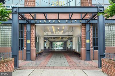 Baltimore City Condo For Sale: 2901 Boston Street #221