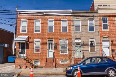 Baltimore City Townhouse For Sale: 114 E Barney Street