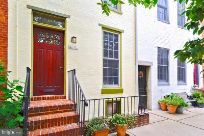 Baltimore City Townhouse For Sale: 807 William Street