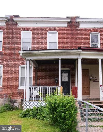 Central Park Heights Townhouse For Auction: 3721 Manchester Avenue