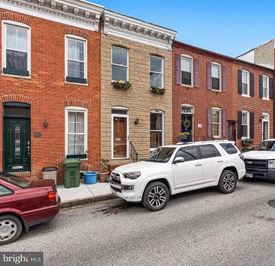 Baltimore City Townhouse For Sale: 32 Poultney Street