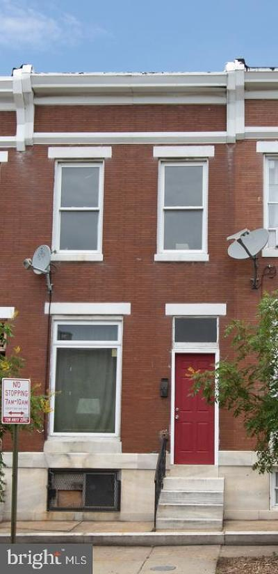 Baltimore City Townhouse For Auction: 2932 E Fayette Street