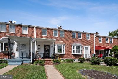 Baltimore MD Townhouse For Sale: $164,900