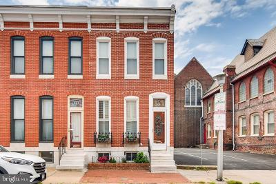 Baltimore City Townhouse For Sale: 1312 Patapsco Street