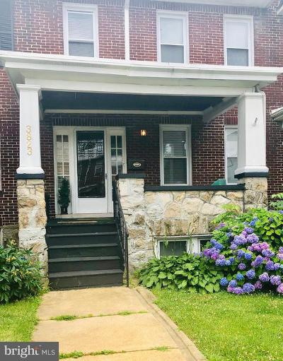 Baltimore MD Townhouse For Sale: $115,999