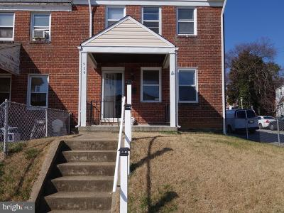Baltimore City Townhouse For Sale: 920 Lyndhurst Street