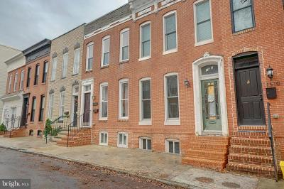 South Baltimore Townhouse For Sale: 1512 Marshall Street