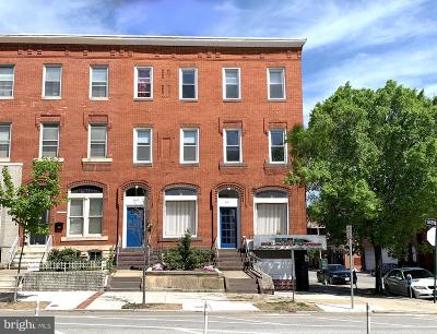 Baltimore Multi Family Home For Sale: 2101-03 Maryland Avenue